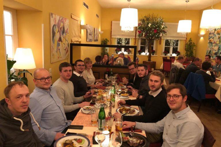 Weihnachtsfeier Steakhouse